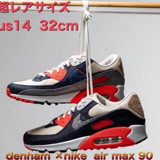 ナイキ(NIKE)のdenham ×nike  air max 90(スニーカー)
