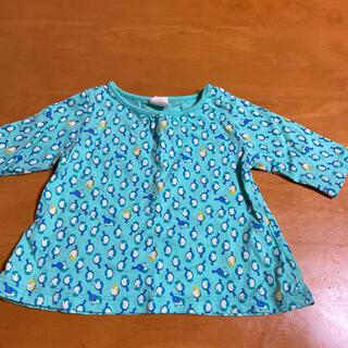アカチャンホンポ(アカチャンホンポ)の鳥さん柄 七分袖 カットソー 70cm(Tシャツ)