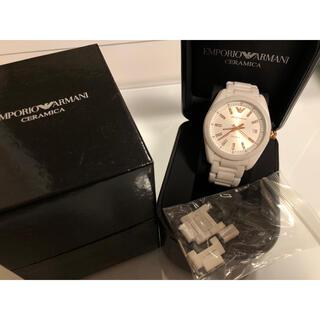 エンポリオアルマーニ(Emporio Armani)のエンポリオアルマーニ セラミック 腕時計(腕時計)
