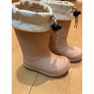 ムジルシリョウヒン(MUJI (無印良品))の無印 長靴 レインブーツ 13-14cm(長靴/レインシューズ)