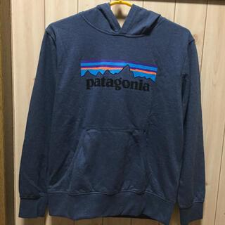 パタゴニア(patagonia)の未使用❣️パタゴニア フーディ女性S位 ブルーグレー boy's  sizeXL(トレーナー/スウェット)