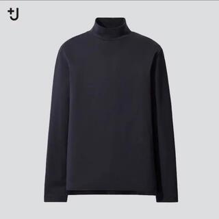 ユニクロ(UNIQLO)のUNIQLO +J スーピマコットン モックネックT(Tシャツ/カットソー(七分/長袖))