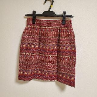 ローズバッド(ROSE BUD)の【新品未使用】ローズバッド スカート(ミニスカート)