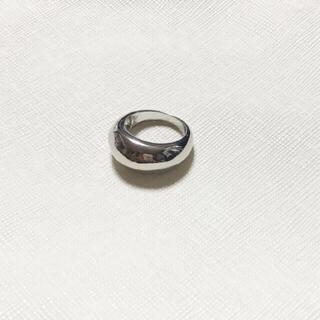 カスタネ(Kastane)のぷっくり デザインリング シルバー ニッケルフリー(リング(指輪))