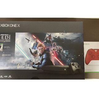 エックスボックス(Xbox)のXbox One X  本体 コントローラーレッドのみ(家庭用ゲーム機本体)
