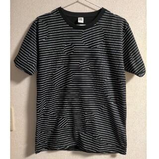 グラニフ(Design Tshirts Store graniph)のグラニフ graniph Tシャツ ボーダー ドット 水玉(Tシャツ/カットソー(半袖/袖なし))