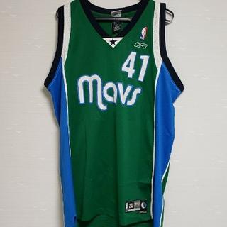 リーボック(Reebok)のReebok NBA マブス ダークノビツキー ユニフォーム(バスケットボール)