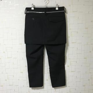 アンダーカバー(UNDERCOVER)のUNDERCOVER スカート付きパンツ(スラックス)