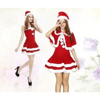 クリスマス サンタ コスプレ レディース セクシー(その他)