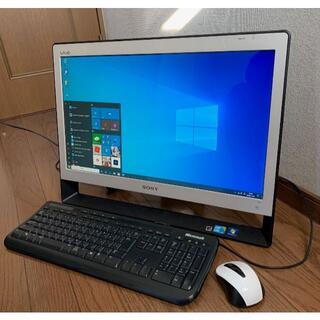 ソニー(SONY)のSONY VAIO VPCJ117FJ Core i3-M350/4GB/500(デスクトップ型PC)