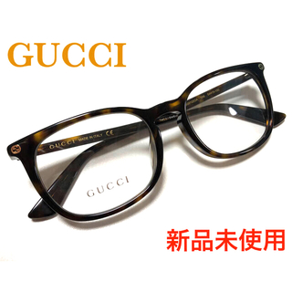 Gucci - ✴︎新品✴︎ ★大人気☆ GUCCI 伊達メガネ ウェリントン ハバナ べっ甲柄