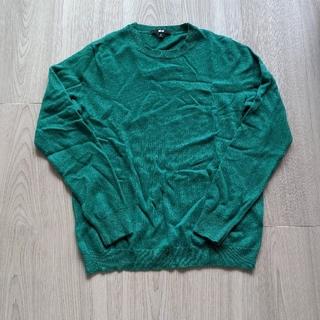 ユニクロ(UNIQLO)のユニクロ カシミヤクルーネックセーター XL(ニット/セーター)