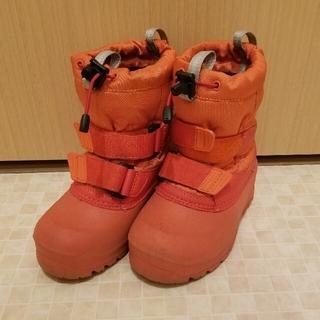 モンベル(mont bell)のモンベル ジュニア キッズ ブーツ オレンジ 16cm(ブーツ)
