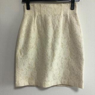 デビュードフィオレ(Debut de Fiore)のデビュードフィオレ   レースボンディングスカート(ひざ丈スカート)