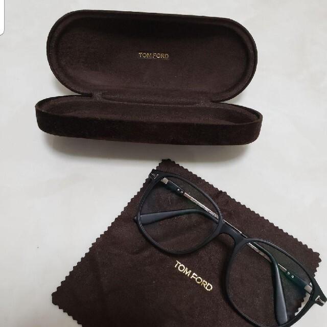 TOM FORD(トムフォード)のトムフォード TOM FORD 眼鏡 伊達眼鏡 ケース付 レディースのファッション小物(サングラス/メガネ)の商品写真