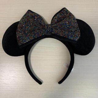 ディズニー(Disney)のディズニー カチューシャ 黒(キャラクターグッズ)