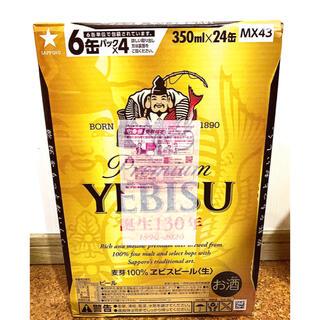 EVISU - プレミアム エビス ビール 350ml x 24缶