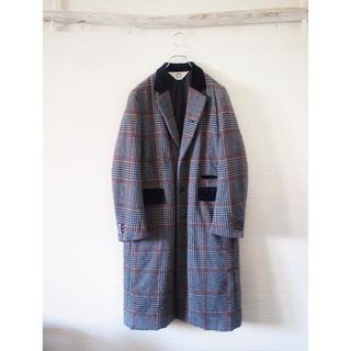 サンシー(SUNSEA)の【SUNSEA】17AW check primaloft-coat(チェスターコート)