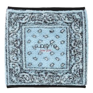 シュプリーム(Supreme)のSupreme bandana fleece neck gaiter(ネックウォーマー)