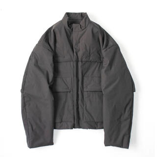 """SUNSEA - PADDED DEFORMABLE JACKET """"CHARCOAL"""""""