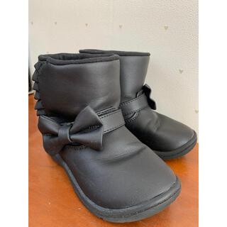 ムーンスター(MOONSTAR )の【ムーンスター 】キャロット ブーツ  16 黒(ブーツ)