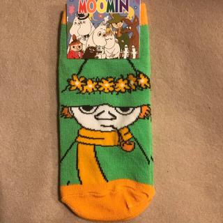 リトルミー(Little Me)のムーミン MOOMIN 靴下 ソックス スナフキン 大人 レディース ジュニア(ソックス)