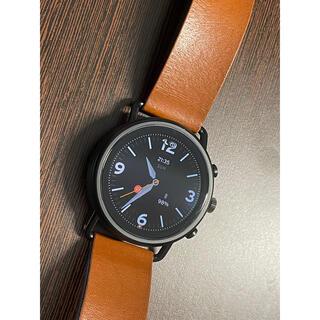 スカーゲン(SKAGEN)の[美品] Skagen Falster 3 ツートーンレザー Gen5 HR(腕時計(デジタル))