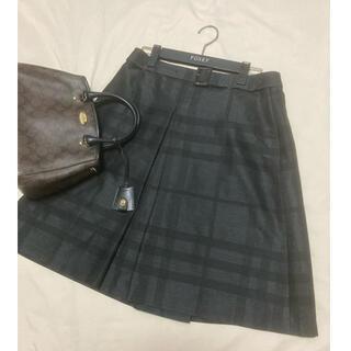 バーバリー(BURBERRY)の美品 バーバリー ロンドン スカート チェック(ひざ丈スカート)
