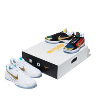ナイキ(NIKE)のUNDEFEATED×NIKE KOBE5PROTRO WHAT IF PACK(スニーカー)