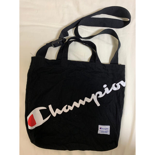 チャンピオン(Champion)の値下げ Champion 2Way トートバッグ 黒(トートバッグ)