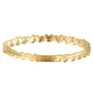 アーカー(AHKAH)のK18アーカーアンハートエタニティリング(リング(指輪))
