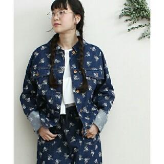フィグロンドン(fig London)のstitch denim jacket(Gジャン/デニムジャケット)