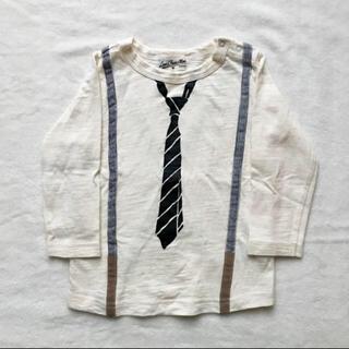 ラブアンドピースアンドマネー(Love&Peace&Money)のラブアンドピースアンドマネー ネクタイTシャツ(Tシャツ/カットソー)