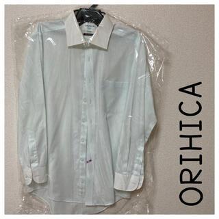 オリヒカ(ORIHICA)のオリヒカ ワイシャツ 長袖シャツ 薄いブルー クリーニング済み(シャツ)