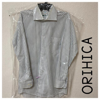 オリヒカ(ORIHICA)のストライプシャツ オリヒカ M 長袖シャツ クリーニング済み(シャツ)