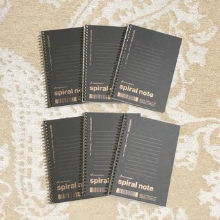 マルマン(Maruman)のマルマン スパイラルノート A6  6冊(ノート/メモ帳/ふせん)