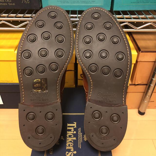 Trickers(トリッカーズ)のTricker's トリッカーズ BOURTON マロンアンティーク UK8.5 メンズの靴/シューズ(ドレス/ビジネス)の商品写真