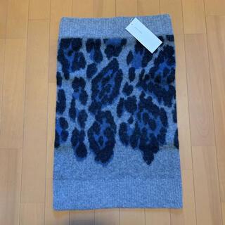 サカイ(sacai)の【新品・未使用】sacai luck ニットスカート サイズ3(ひざ丈スカート)