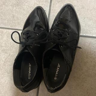ジーナシス(JEANASIS)のジーナシスJEANASIS厚底シューズ(ローファー/革靴)