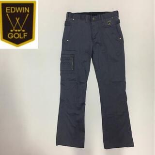 エドウィン(EDWIN)のエドウィン ゴルフ スポーツ スラックス パンツ◇グレー  Mサイズ (ウエア)
