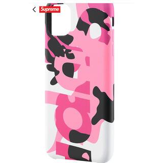 シュプリーム(Supreme)のsupreme iPhone 11pro pink camo(iPhoneケース)
