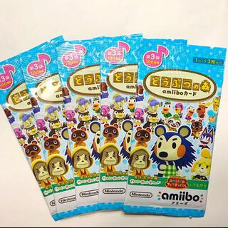 ニンテンドウ(任天堂)のどうぶつの森 amiiboカード 第3弾 5パック(その他)