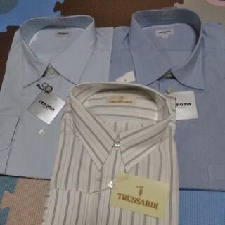 レノマ(RENOMA)のレノマ(renoma)LL(2着)とトラサルディ43-82サイズのシャツの合計3(シャツ)