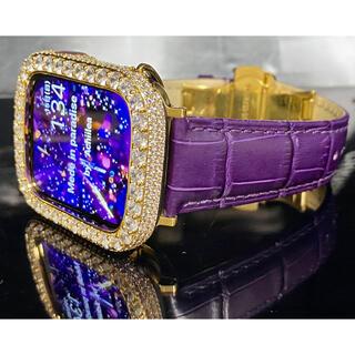 アップルウォッチカスタムカバー ベルトセット(腕時計(デジタル))