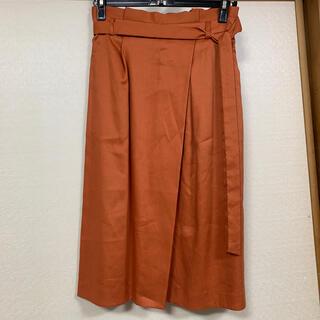 ロペ(ROPE)のロペ 共布ベルト付きロングスカート(ロングスカート)