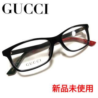 Gucci - ★新品☆ ※最安値 GUCCI メガネ 高級  黒 バイカラー メガネ BK