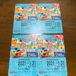 ディズニー(Disney)のディズニーリゾートラインフリーパスポート切符(その他)