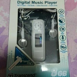 トランセンド(Transcend)の未使用『デジタルミュージックプレイ 』 訳あり        (ポータブルプレーヤー)