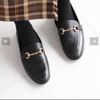 イエナスローブ(IENA SLOBE)の新品未使用◆MARION TOUFET ビット付きローファーsize38(ローファー/革靴)