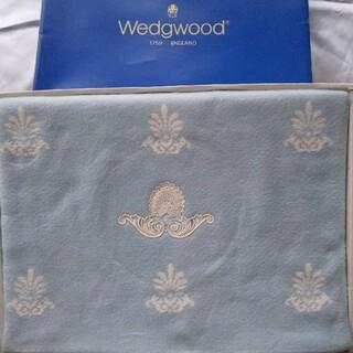 ウェッジウッド(WEDGWOOD)のひろちゃん様専用 WEDGWOOD 綿毛布 西川 訳あり(毛布)